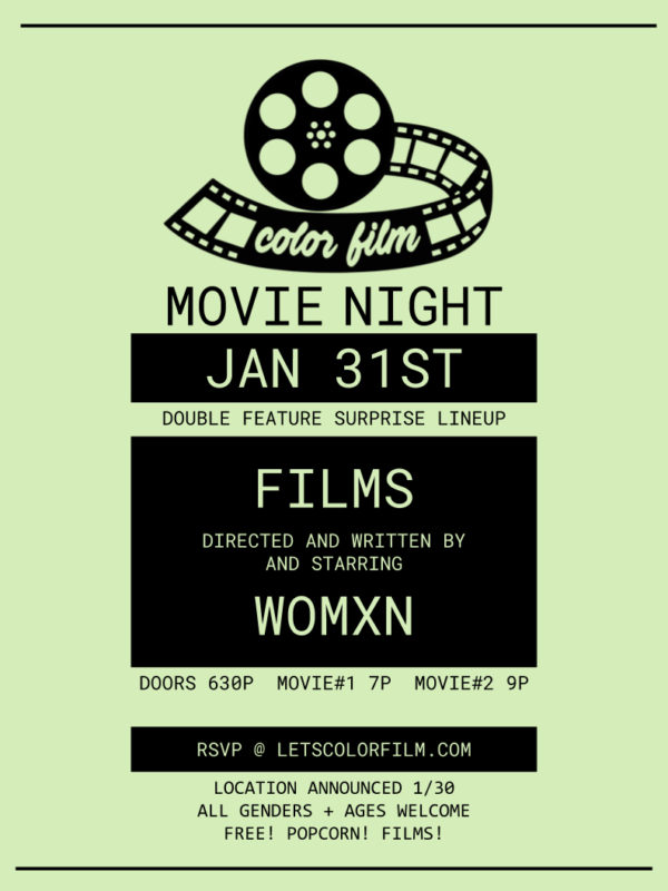 Color Film Movie Night January 31